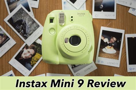 instant review fujifilm instax mini 9 review