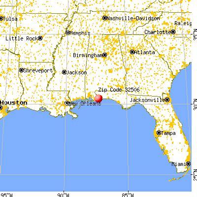 myrtle florida map 32506 zip code myrtle grove florida profile homes