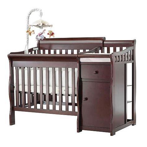 Sorelle Camden Mini Crib Sorelle Camden Mini Crib Changer Merlot Sorelle Sorelle 596 M