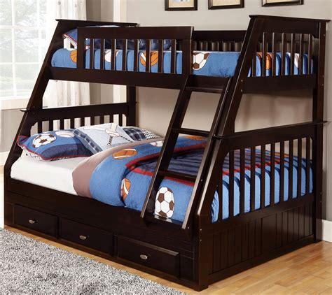 twin  full bunk bed modern design