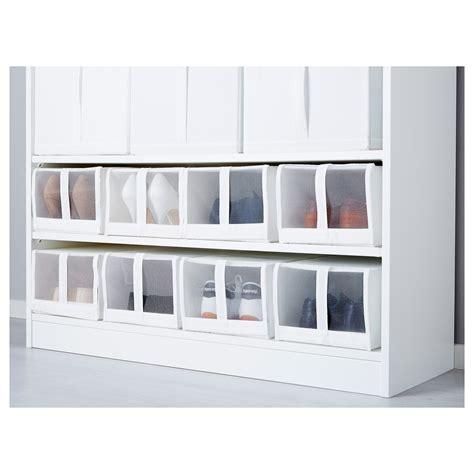ikea shoe box storage skubb shoe box white 22x34x16 cm ikea