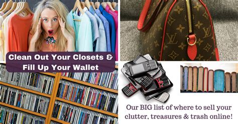 clean out your closets fill up your wallet real work