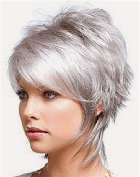 picture of precision grey hair haircut 50 best short hairstyles for fine hair women s fave