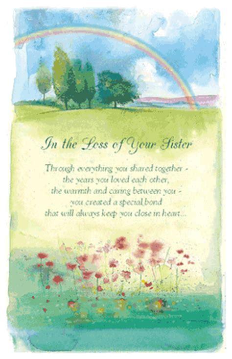 loss  sister greeting card sympathy printable card