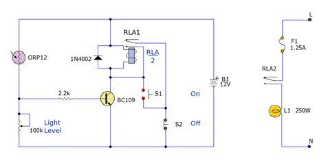 parking light switch circuit diagram