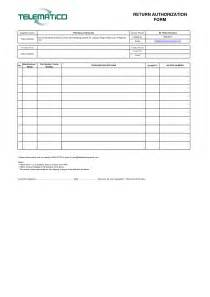 rma form template l vusashop com