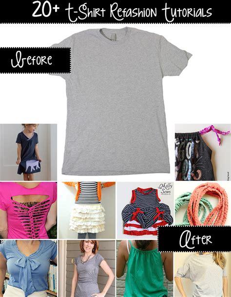 T Shirt Upcycling - t shirt upcycle tutorials andrea s notebook