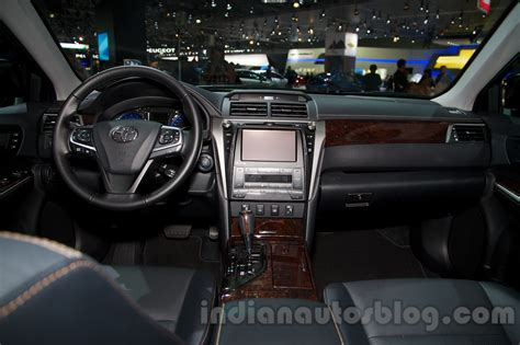 Toyota Camry 2014 Interior 2015 Toyota Camry Interior At The 2014 Moscow Motor Show