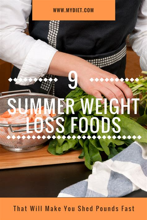 Shed The Pounds by 9 Summer Weight Loss Foods That Will Make You Shed Pounds