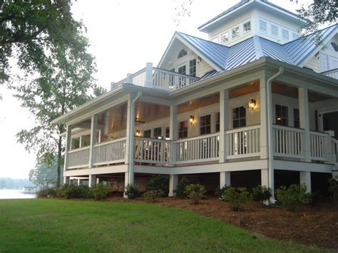 commercial southern homes with wrap around porches