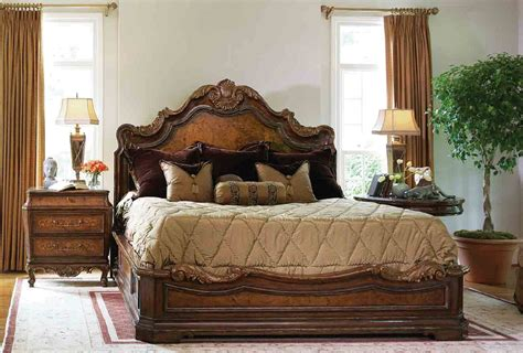 high end master bedroom set platform bed