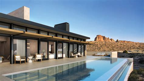 Minimalist Design House by Exclusive First Look Utah S Secluded Amangiri Resort
