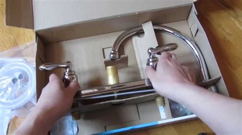 moen caldwell kitchen faucet chrome model ca87888 unboxing