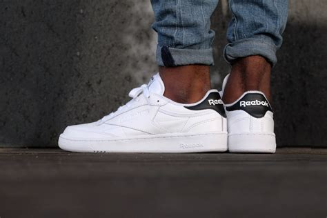 black news page 36 of 85 for us by us reebok club c 85 el white black ar1608