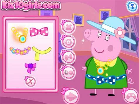peppa pig family dress  juego  en juegosjuegoscom