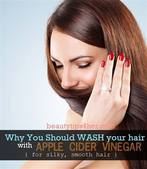 How To Detox Your Hair With Apple Cider Vinegar by Why You Should Wash Your Hair With Apple Cider Vinegar For