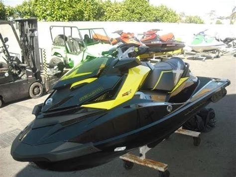 awesome toy jet boat dayglow yellow this thing looks awesome 2012 sea doo rxp