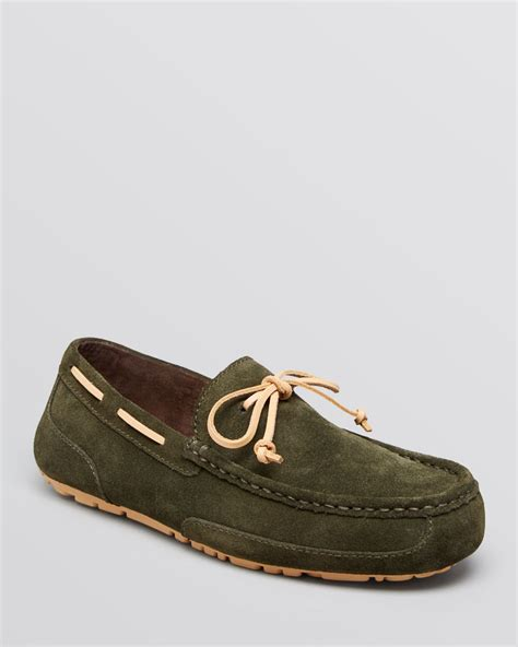 ugg suede slippers ugg ugg 174 australia chester suede slippers in green for