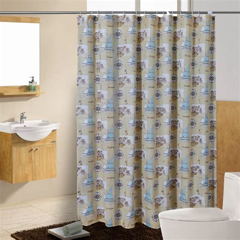 coastal curtains nautical shower curtains antigua nautical shower curtain