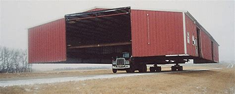 keeping  truck dry  putting  shed   steel