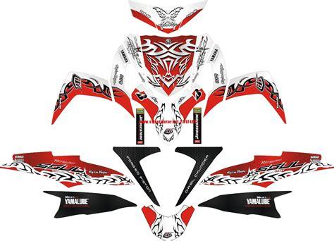 Dekal Stiker Klx 150 D A1 073 Striping Stiker Motor Yamaha Mio Soul Gt Tribal