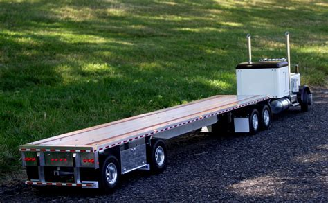 flat bed trailers custom aluminum flatbed trailers for tamiya trucks