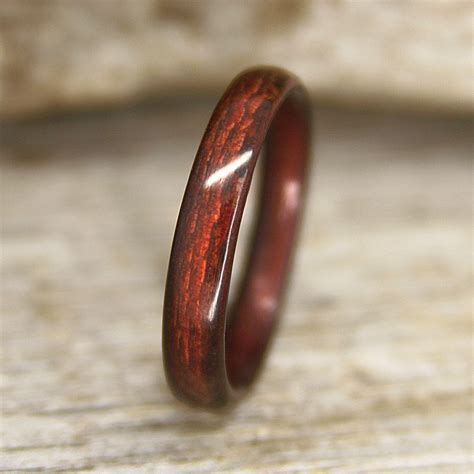 "Buy Classic Shou Sugi Ban ""Torched Cedar"" Bentwood Ring"