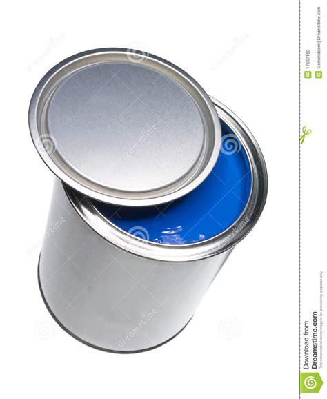 blue paint blue paint can stock photo image 17867160