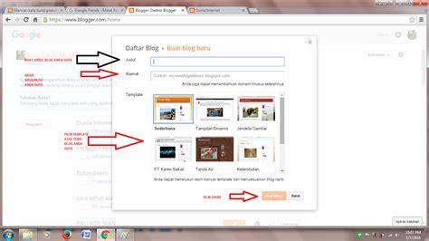 cara membuat blog atau website cara mudah membuat blog atau website tips dan tutorial