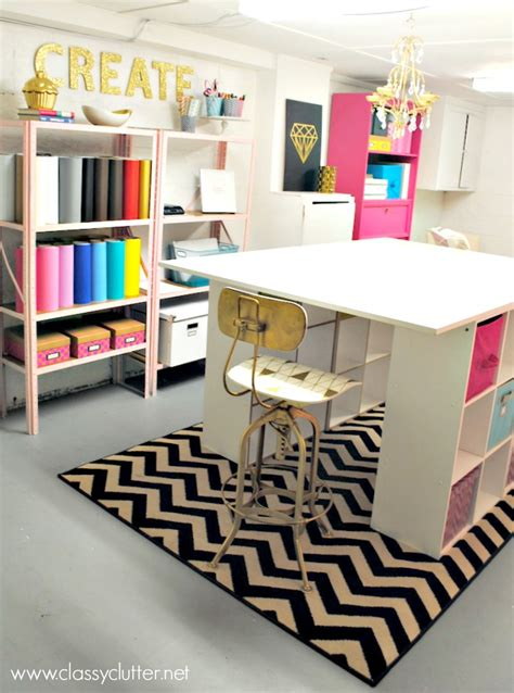 craft studio ideas 10 creative craft rooms and home offices classy clutter