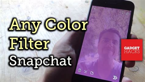 how to get more colors on snapchat add any color filter to snapchat pics on your