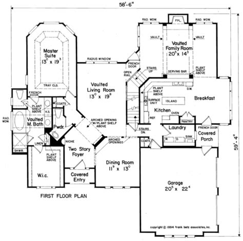 hillcrest home plans and house plans by frank betz