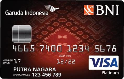 slip gaji karyawan pertamina kartu kredit lainnya bni