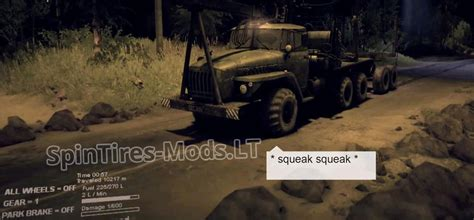 squeaky sound sounds spintires mudrunner mods