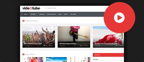 html5 website template free 35 best wordpress video themes 2017