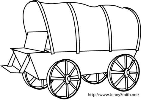 { Mormon Share } Covered Wagon   line art