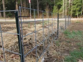 How To Install Trellis Panels Cattle Panel Fence Design Fence Ideas