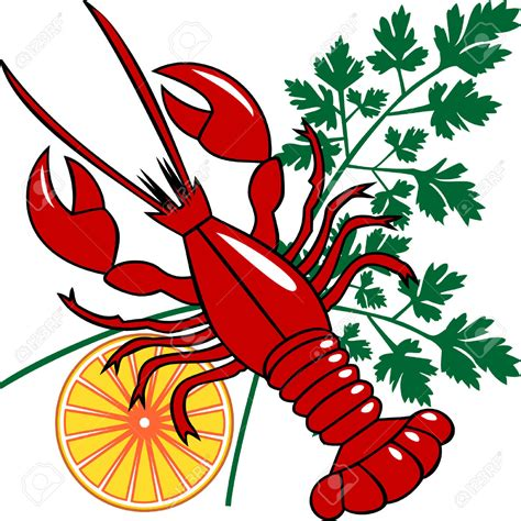 crawfish clipart lobster clipart crayfish pencil and in color lobster