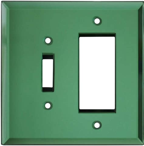 mirror light switch covers glass mirror green light switch plates outlet covers