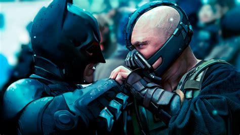 Wallpaper Batman Vs Bane | bane vs batman the dark knight rises wallpaper 699614