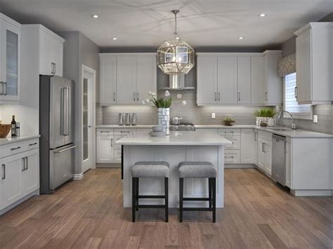 white and gray kitchen 1000 ideas about grey kitchens on pinterest grey