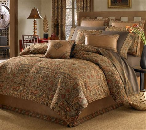 croscill yosemite king comforter set qvc com