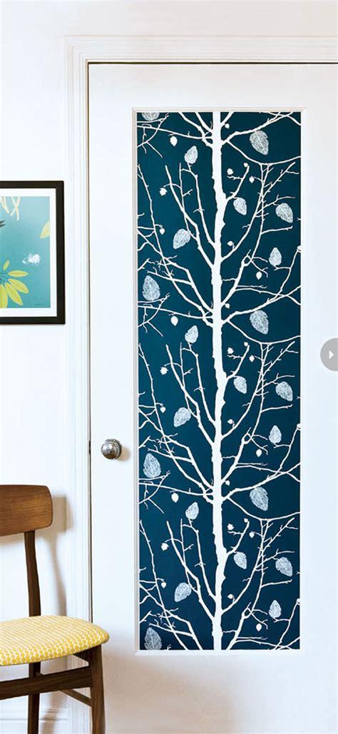 Wallpaper Closet Doors 30 Creative Wallpaper Uses And Project Ideas
