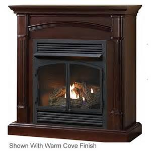 procom hns400 size fireplace with mantel s gas