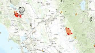 california wildfires map california fires by the numbers nbc southern california