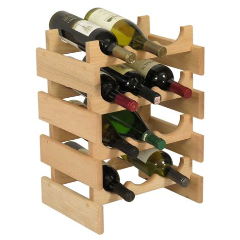 Wine Bottle Rack by 12 Bottle Wine Rack Vertical In Wine Racks