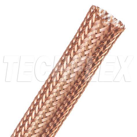 Braid Copper copper braid techflex