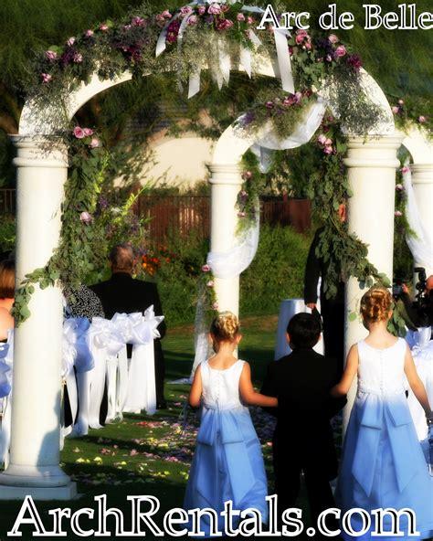 Wedding Arch Rentals Los Angeles by Real Weddings Arc De Wedding Arch Canopy