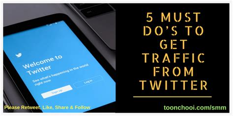 5 Must Dos by 5 Must Do S To Get Traffic From Best Experts S