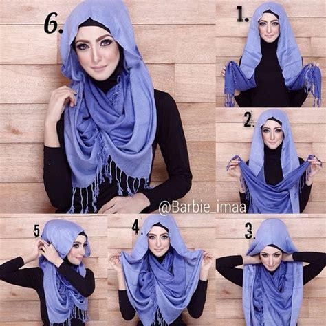 learn  easy   hijab styles hijabiworld